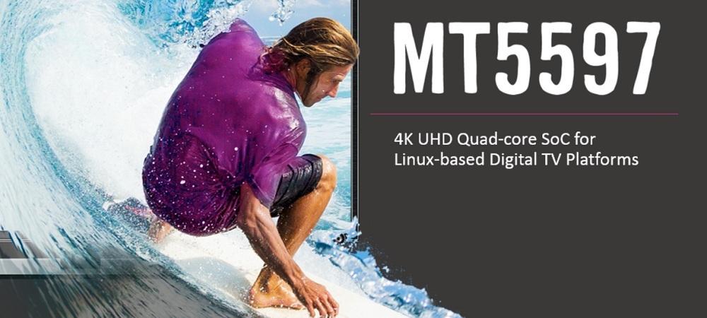 MT5597 4K UltraHD Smart TV platform with Dolby HDR technology