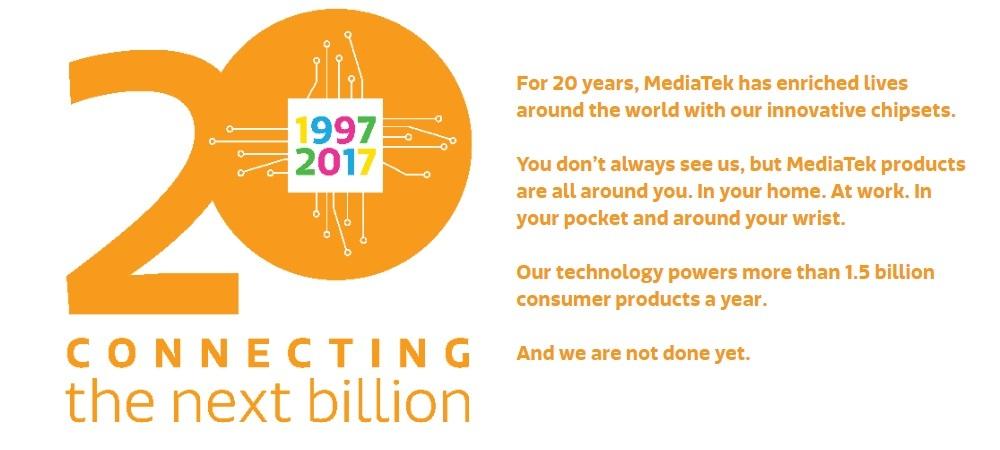 Happy 20th Birthday MediaTek!